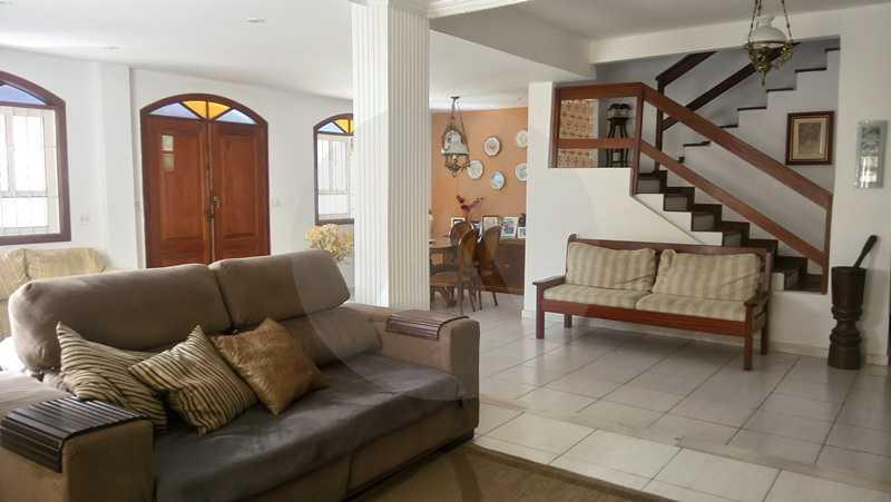 4 Casa Padrão Itaipu - Imobiliária Agatê Imóveis vende Casa de 250m² Itaipu - Niterói por 840 mil reais. - HTCA30081 - 5