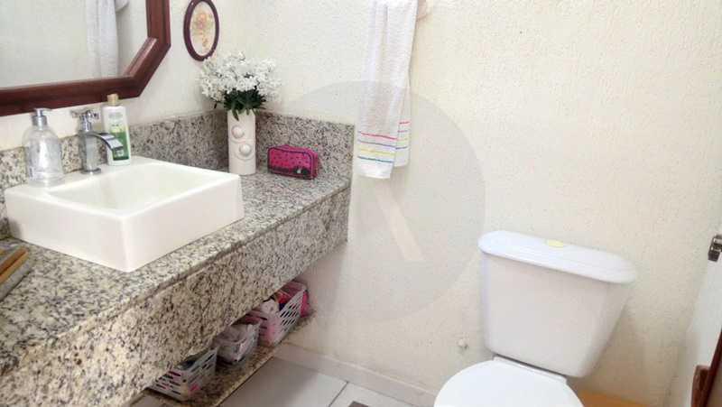 7 Casa Padrão Itaipu - Imobiliária Agatê Imóveis vende Casa de 250m² Itaipu - Niterói por 840 mil reais. - HTCA30081 - 8