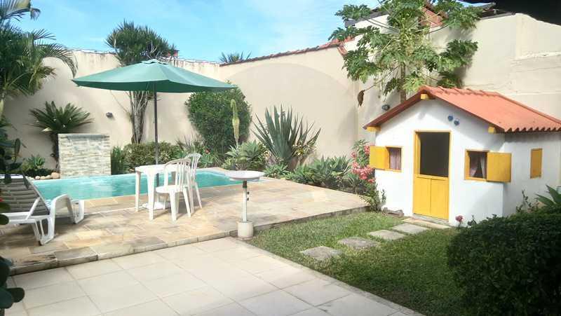 12 Casa Padrão Itaipu - Imobiliária Agatê Imóveis vende Casa de 250m² Itaipu - Niterói por 840 mil reais. - HTCA30081 - 13