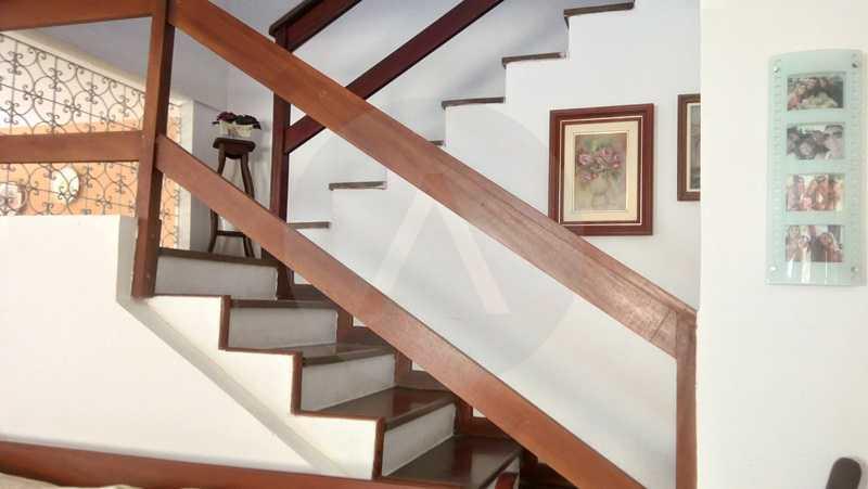 17 Casa Padrão Itaipu - Imobiliária Agatê Imóveis vende Casa de 250m² Itaipu - Niterói por 840 mil reais. - HTCA30081 - 18