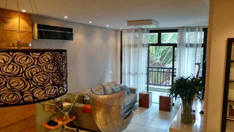 3 Apartamento Itaipu - Imobiliária Agatê Imóveis vende Apartamento de 185 m² Itaipu - Niterói por 650 mil reais - HTAP30002 - 4