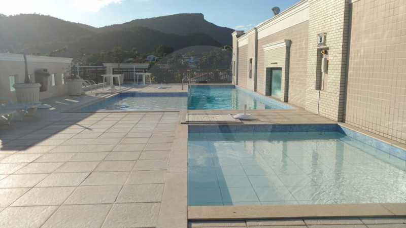 1 Apartamento Itaipu - Imobiliária Agatê Imóveis vende Apartamento de 185 m² Itaipu - Niterói por 650 mil reais - HTAP30002 - 1
