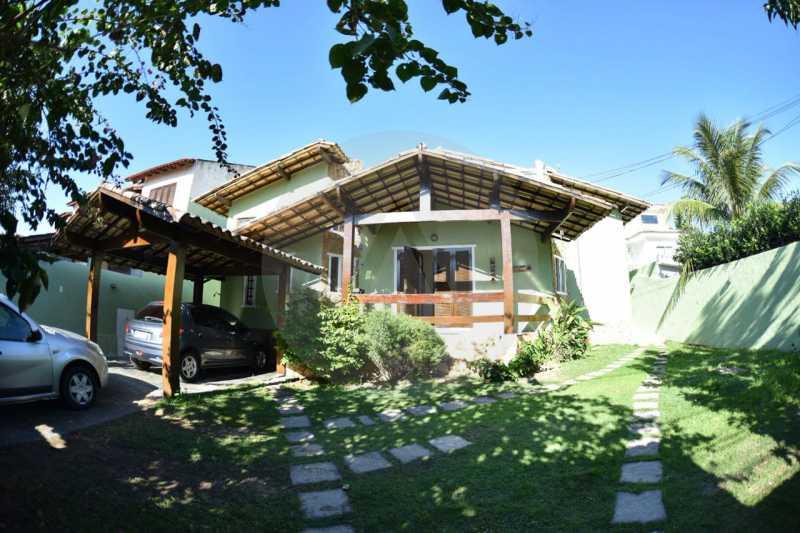 1 Casa Padrão Argeu Itaipu   - Imobiliária Agatê Imóveis vende Casa - Itaipu - Niterói. - HTCA30092 - 1