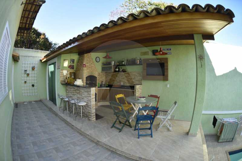 5 Casa Padrão Argeu Itaipu   - Imobiliária Agatê Imóveis vende Casa - Itaipu - Niterói. - HTCA30092 - 6