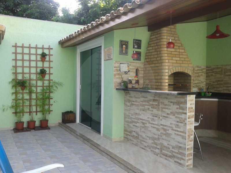 4 Casa Padrão Argeu Itaipu   - Imobiliária Agatê Imóveis vende Casa - Itaipu - Niterói. - HTCA30092 - 5