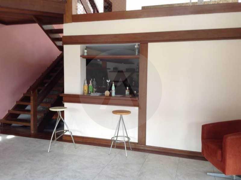 5 Casa Condominio Camboinhas - Imobiliária Agatê Imóveis vende Casa em Condomínio de 475 m² Camboinhas - Niterói por 1.750 mil reais. - HTCN60001 - 6