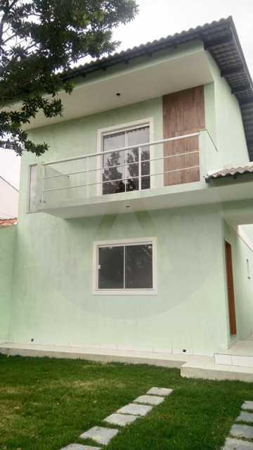 2 Casa 4 quartos Itaipu - Imobiliária Agatê Imóveis vende Casa de 138 m² Itaipu - Niterói por 520 mil reais. - HTCA40047 - 3