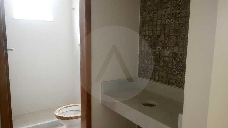8 Casa 4 quartos Itaipu - Imobiliária Agatê Imóveis vende Casa de 138 m² Itaipu - Niterói por 520 mil reais. - HTCA40047 - 9
