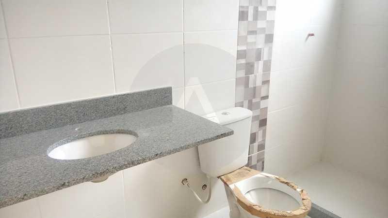 16 Casa 4 quartos Itaipu - Imobiliária Agatê Imóveis vende Casa de 138 m² Itaipu - Niterói por 520 mil reais. - HTCA40047 - 17