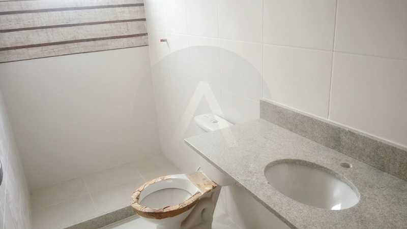 17 Casa 4 quartos Itaipu - Imobiliária Agatê Imóveis vende Casa de 138 m² Itaipu - Niterói por 520 mil reais. - HTCA40047 - 18