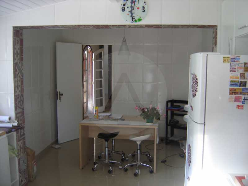casa padrao itaipu 8 - Imobiliária Agatê Imóveis vende Casa Padrão de 145 m² Itaipu - Niterói por 565 mil reais. - HTCA30107 - 9