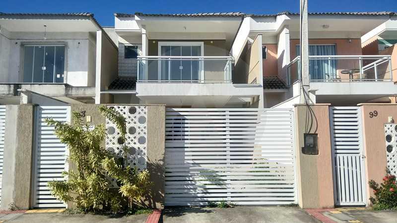 1 Casa Itaipu Niteroi - Imobiliária Agatê Imóveis vende Casa Duplex de 120m² Itaipu - Niterói por 550 mil reais. - HTCA30108 - 4