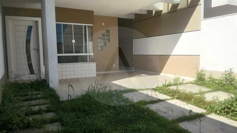 2 Casa Itaipu Niteroi - Imobiliária Agatê Imóveis vende Casa Duplex de 120m² Itaipu - Niterói por 550 mil reais. - HTCA30108 - 1