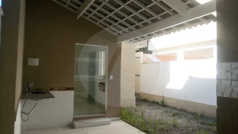 10 Casa Itaipu Niteroi - Imobiliária Agatê Imóveis vende Casa Duplex de 120m² Itaipu - Niterói por 550 mil reais. - HTCA30108 - 8