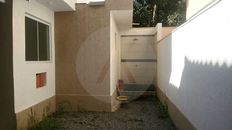 12 Casa Itaipu Niteroi - Imobiliária Agatê Imóveis vende Casa Duplex de 120m² Itaipu - Niterói por 550 mil reais. - HTCA30108 - 9