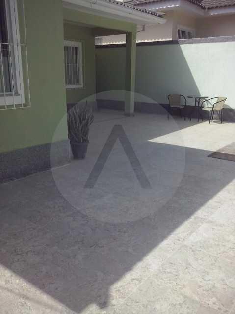 Casa Padrão Linear Itaipu - Imobiliária Agatê Imóveis vende Casa, Itaipu - Niterói. - HTCA30123 - 3