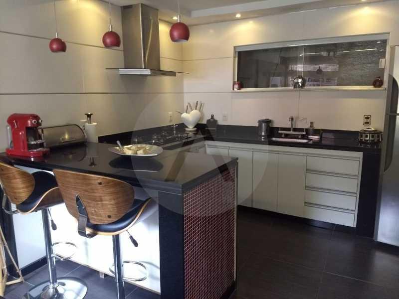 5 Casa Condomínio Pendotiba. - Imobiliária Agatê Imóveis vende Casa em Condomínio de 400 m² Itaipu - Niterói por 1.800 mil reais. - HTCN40037 - 7