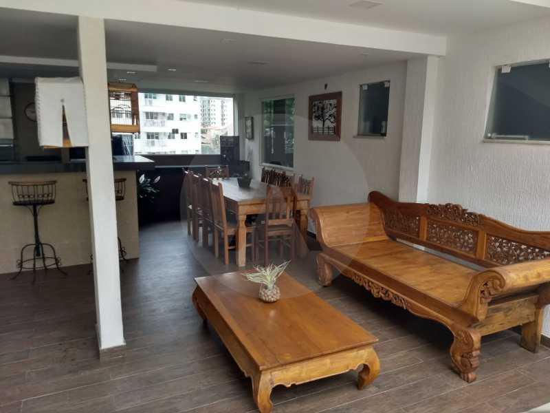18 Casa Condomínio Pendotiba. - Imobiliária Agatê Imóveis vende Casa em Condomínio de 400 m² Itaipu - Niterói por 1.800 mil reais. - HTCN40037 - 19