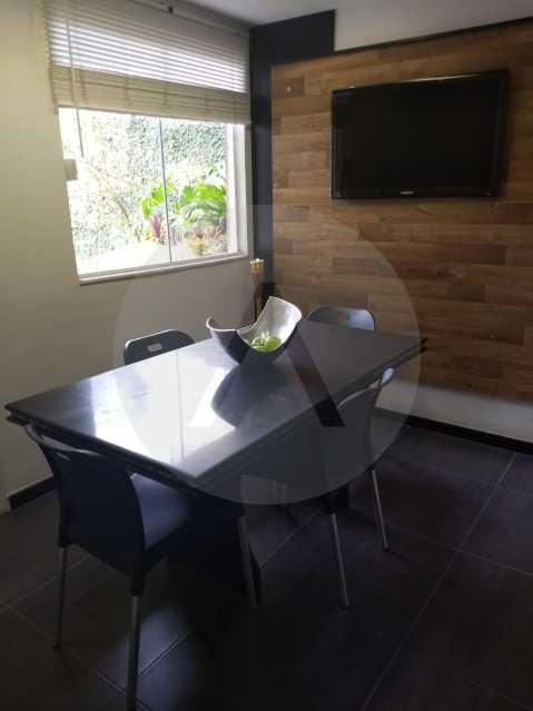 22 Casa Condomínio Pendotiba. - Imobiliária Agatê Imóveis vende Casa em Condomínio de 400 m² Itaipu - Niterói por 1.800 mil reais. - HTCN40037 - 23
