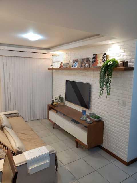 3 Apartamento Piratininga - Imobiliária Agatê Imóveis vende Apartamento Padrão de 70 m² Piratininga - Niterói. - HTAP20005 - 1