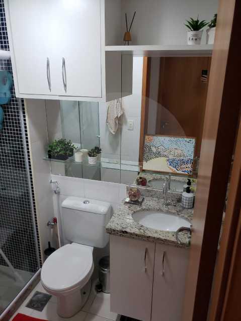 10 Apartamento Piratininga - Imobiliária Agatê Imóveis vende Apartamento Padrão de 70 m² Piratininga - Niterói. - HTAP20005 - 11