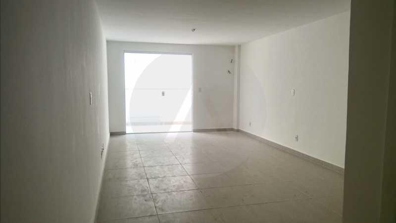 2 Flat Itaipu - Imobiliária Agatê Imóveis vende Flat de 35 m² Itaipu - Niterói por 225 mil reais. - HTFL10002 - 3