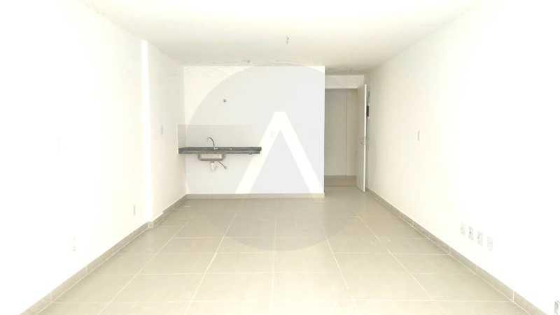 4 Flat Itaipu - Imobiliária Agatê Imóveis vende Flat de 35 m² Itaipu - Niterói por 225 mil reais. - HTFL10002 - 5