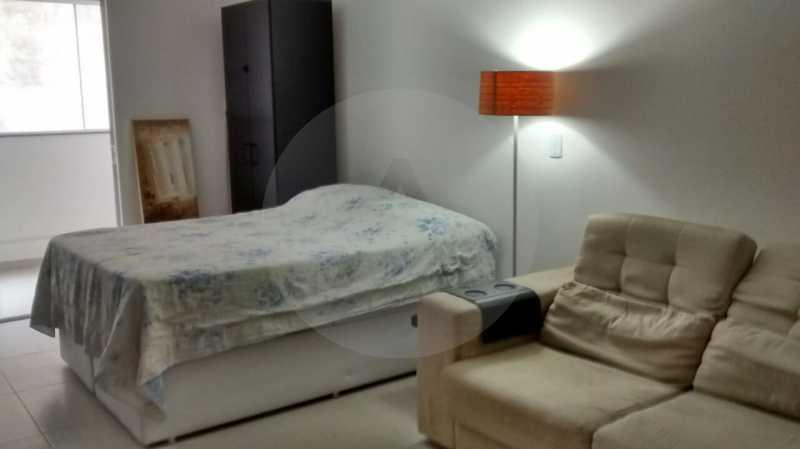 5 Flat Itaipu. - Imobiliária Agatê Imóveis vende Flat de 35 m² Itaipu - Niterói por 225 mil reais. - HTFL10002 - 6