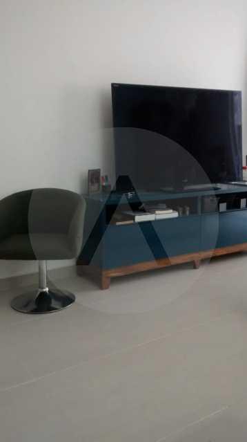 6 Flat Itaipu. - Imobiliária Agatê Imóveis vende Flat de 35 m² Itaipu - Niterói por 225 mil reais. - HTFL10002 - 7