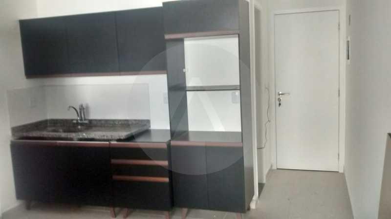 16 Flat Itaipu. - Imobiliária Agatê Imóveis vende Flat de 35 m² Itaipu - Niterói por 225 mil reais. - HTFL10002 - 17