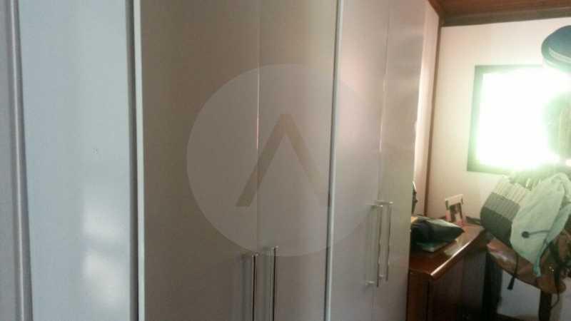 18 Casa Mini Sitio Itaipu. - Imobiliária Agatê Imóveis vende Casa de 210 m² Itaipu - Niterói por 850 mil reais. - HTCA40055 - 19