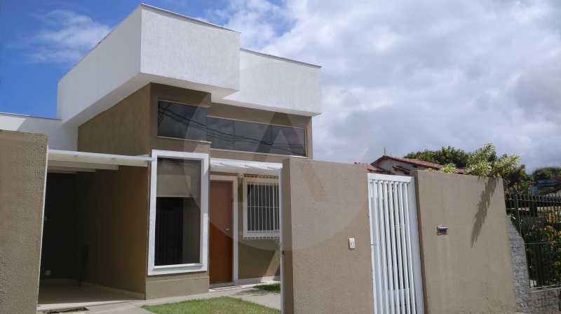 1 Casa Linear Itaipu - Fachada - IMOBILIÁRIA AGATÊ IMÓVEIS VENDE CASA LINEAR ITAIPU NITERÓI. - HTCA30137 - 3