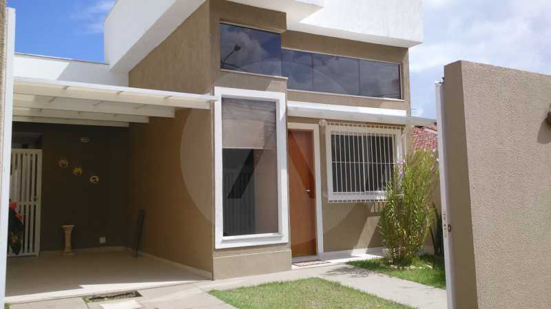 22 Casa Linear Itaipu- Fachada - IMOBILIÁRIA AGATÊ IMÓVEIS VENDE CASA LINEAR ITAIPU NITERÓI. - HTCA30137 - 24