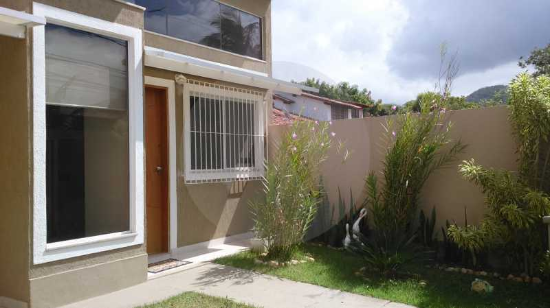 2 Casa Linear Itaipu - Entrada - IMOBILIÁRIA AGATÊ IMÓVEIS VENDE CASA LINEAR ITAIPU NITERÓI. - HTCA30137 - 4