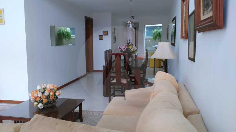 23 Casa Linear Itaipu - Sala - IMOBILIÁRIA AGATÊ IMÓVEIS VENDE CASA LINEAR ITAIPU NITERÓI. - HTCA30137 - 25