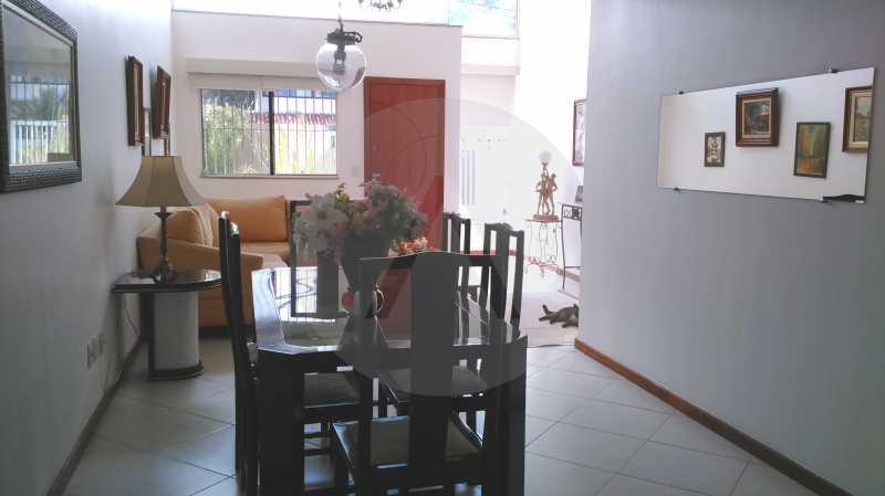 5 Casa Linear Itaipu - Jantar - IMOBILIÁRIA AGATÊ IMÓVEIS VENDE CASA LINEAR ITAIPU NITERÓI. - HTCA30137 - 7