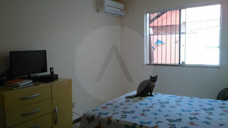 7 Casa Linear Itaipu - Suite - IMOBILIÁRIA AGATÊ IMÓVEIS VENDE CASA LINEAR ITAIPU NITERÓI. - HTCA30137 - 9
