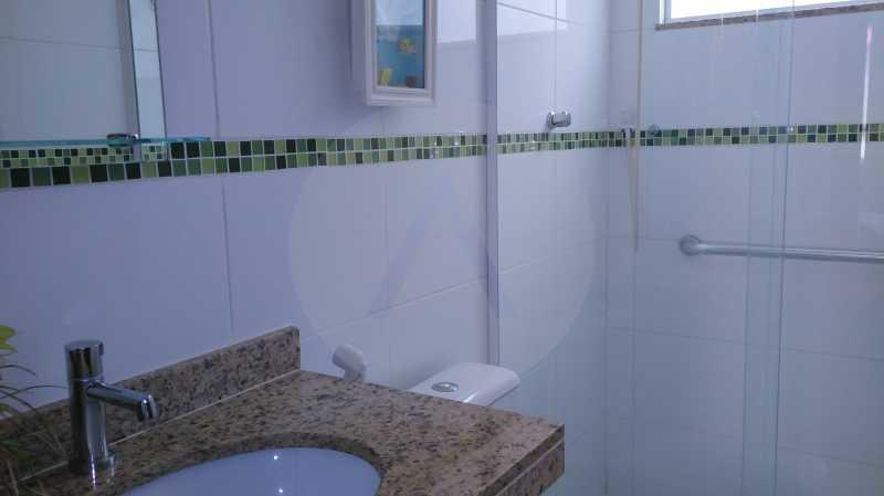 9 Casa Linear Itaipu - Suite - IMOBILIÁRIA AGATÊ IMÓVEIS VENDE CASA LINEAR ITAIPU NITERÓI. - HTCA30137 - 11