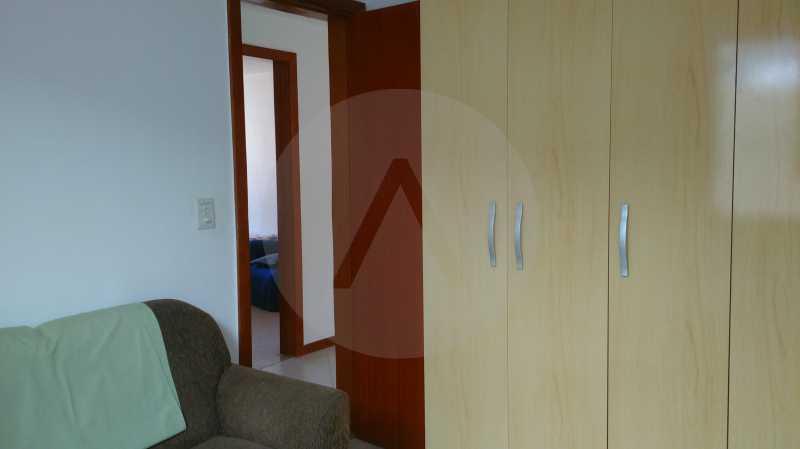 26 Casa Linear Itaipu - Qto 1 - IMOBILIÁRIA AGATÊ IMÓVEIS VENDE CASA LINEAR ITAIPU NITERÓI. - HTCA30137 - 28