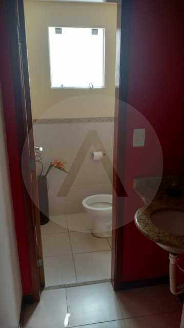 6 - Casa Duplex Itaipu. - MOBILIÁRIA AGATÊ IMÓVEIS VENDE CASA DUPLEX ITAIPU ,NITERÓI. - HTCA30139 - 8