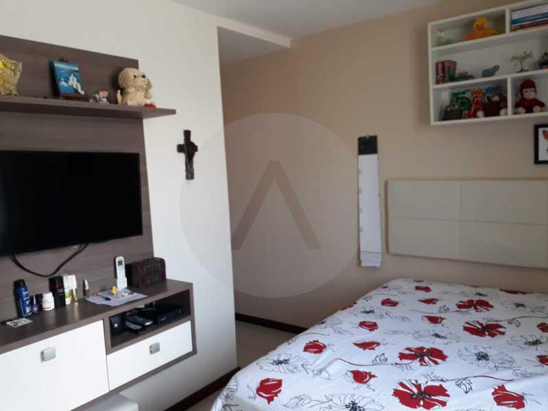 17- Casa Duplex Itaipu. - Imobiliária Agatê Imóveis vende Casa de 145 m² Itaipu - Niterói por 680 mil reais. - HTCA30139 - 20