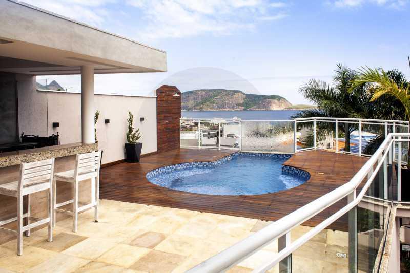 2 Casa Padrão Camboinhas - Imobiliária Agatê Imóveis vende Casa de 390 m² Camboinhas - Niterói por 2.490 mil reais - HTCA50016 - 3
