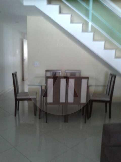 4 - Casa Duplex Itaipu. - Imobiliária Agatê Imóveis vende Casa em Condomínio de 168 m² Itaipu - Niterói por 830 mil reais. - HTCN40042 - 5