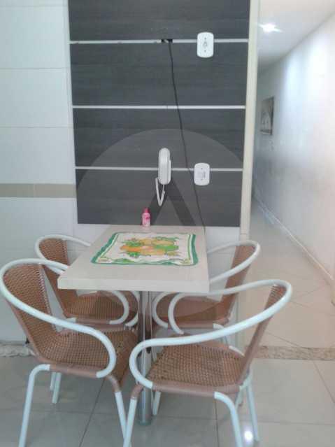 8 - Casa Duplex Itaipu. - Imobiliária Agatê Imóveis vende Casa em Condomínio de 168 m² Itaipu - Niterói por 830 mil reais. - HTCN40042 - 9