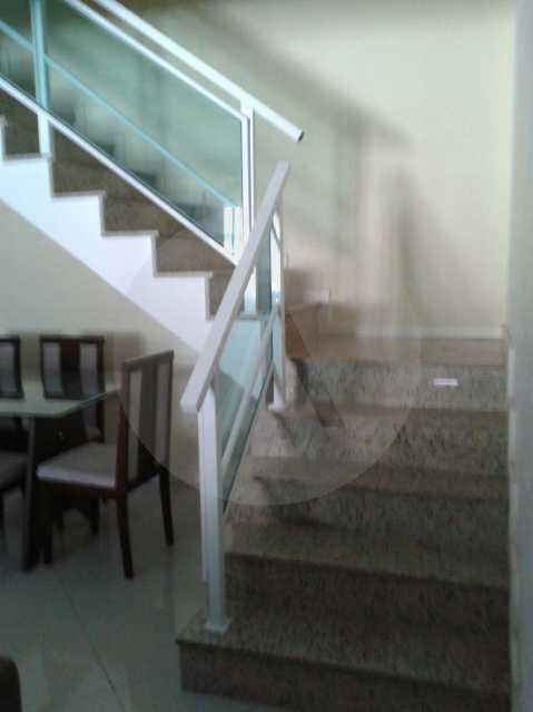 14 - Casa Duplex Itaipu. - Imobiliária Agatê Imóveis vende Casa em Condomínio de 168 m² Itaipu - Niterói por 830 mil reais. - HTCN40042 - 15