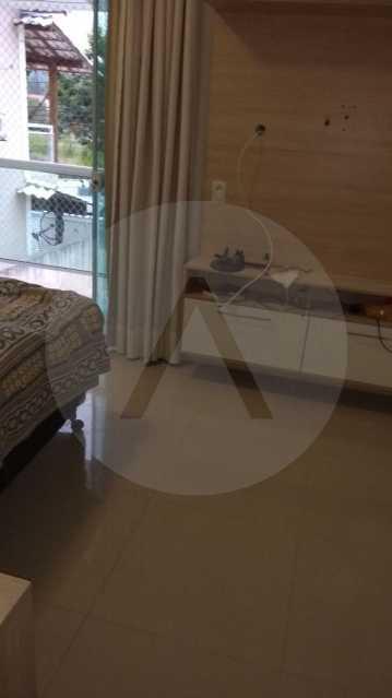 15 - Casa Duplex Itaipu. - Imobiliária Agatê Imóveis vende Casa em Condomínio de 168 m² Itaipu - Niterói por 830 mil reais. - HTCN40042 - 16