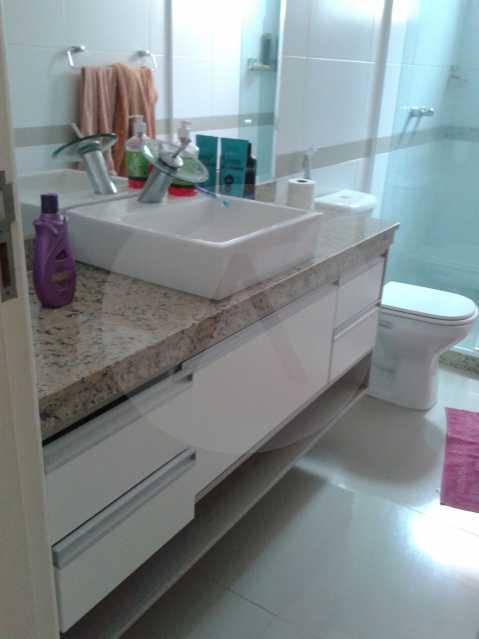 19 - Casa Duplex Itaipu. - Imobiliária Agatê Imóveis vende Casa em Condomínio de 168 m² Itaipu - Niterói por 830 mil reais. - HTCN40042 - 20