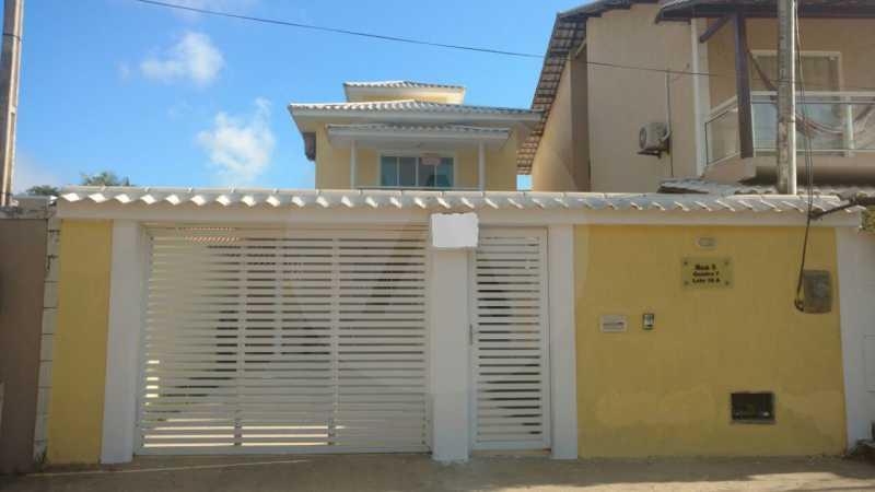 1 - Casa Duplex Itaipu. - Imobiliária Agatê Imóveis vende Casa em Condomínio de 168 m² Itaipu - Niterói por 830 mil reais. - HTCN40042 - 1