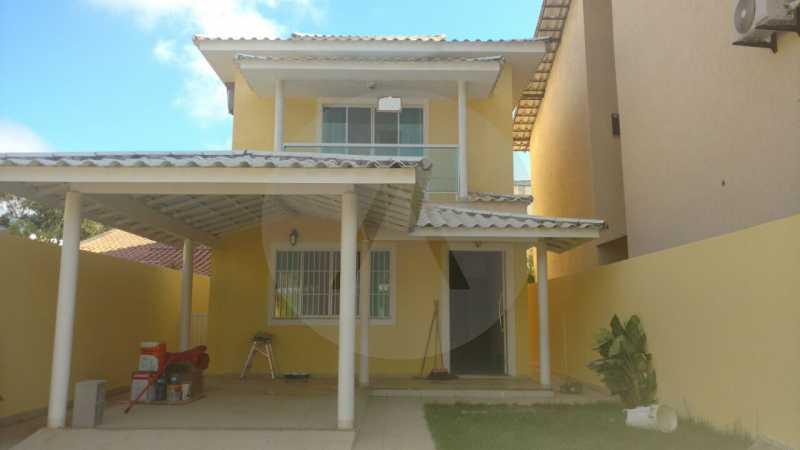 2 - Casa Duplex Itaipu. - Imobiliária Agatê Imóveis vende Casa em Condomínio de 168 m² Itaipu - Niterói por 830 mil reais. - HTCN40042 - 3