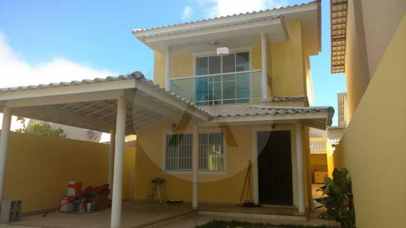 3 - Casa Duplex Itaipu. - Imobiliária Agatê Imóveis vende Casa em Condomínio de 168 m² Itaipu - Niterói por 830 mil reais. - HTCN40042 - 4